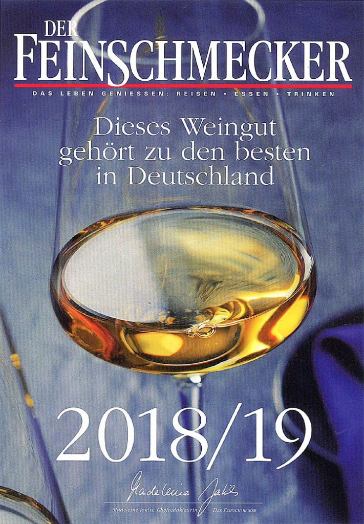 FEINSCHMECKER 2018 19 Cover